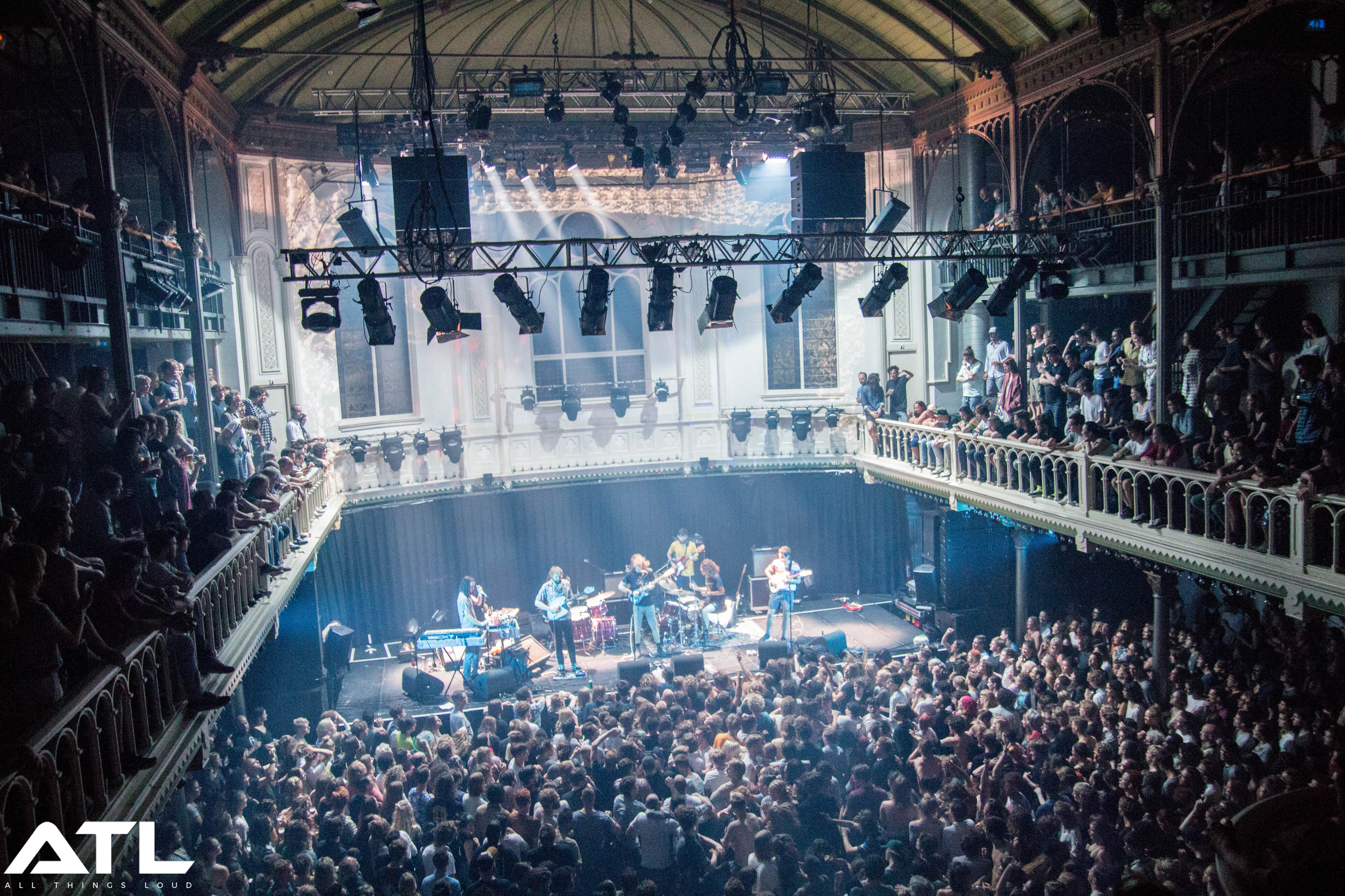 The band live at Amsterdam's Paradiso in June 2017. (c) Jack Parker
