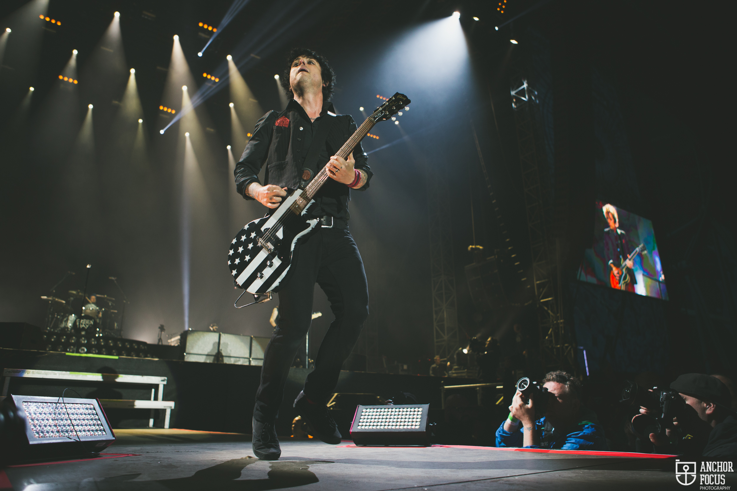 Green Day live at Nova Rock this summer. (c) Natasja de Vries