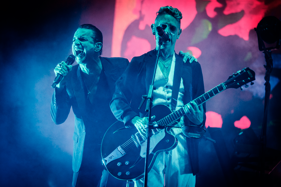Depeche Mode. (c) Mitchell Giebels