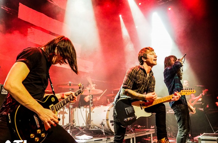 Mayday Parade performing in Eindhoven. (c) Jack Parker