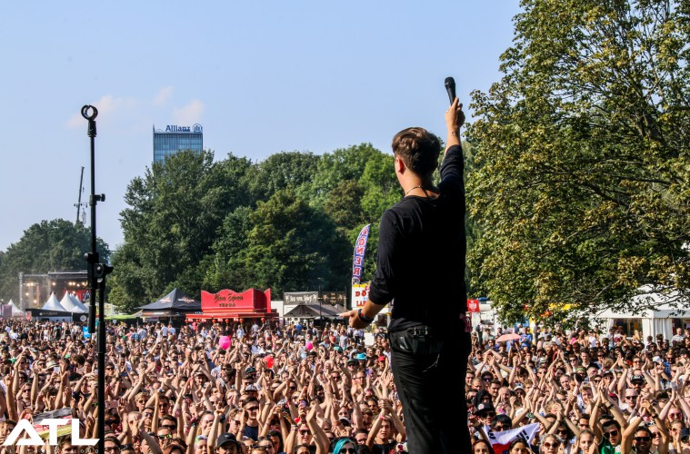 Nothing But Thieves at the aforementioned Lollapalooza Berlin. (c) Jack Parker