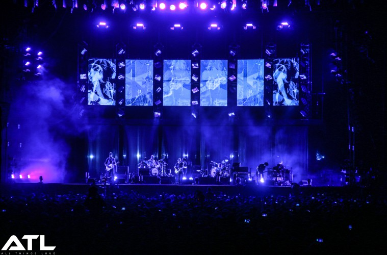 Radiohead at Lollapalooza Berlin. (c) Jack Parker