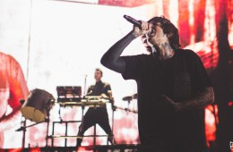 Bring Me the Horizon at London's o2 Arena last week. (c) Natasja de Vries