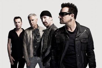 U2 photographed by John Wright