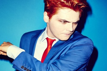 Gerard Way PR via Brian Bumbery   2014 credit:  Eric Ray Davidson