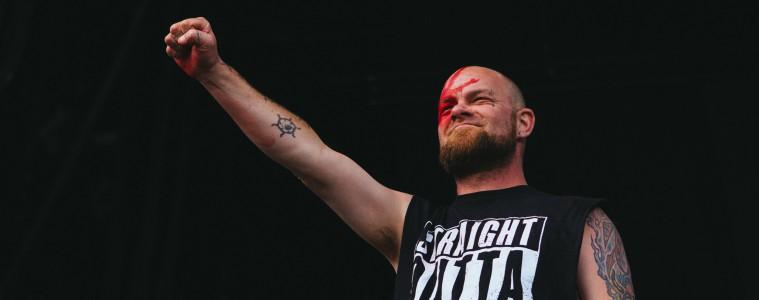 Five Finger Death Punch's Ivan Moody. (c) Natasja de Vries