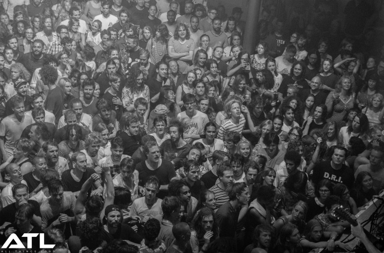 Fans go mental at the Paradiso. (c) Jack Parker