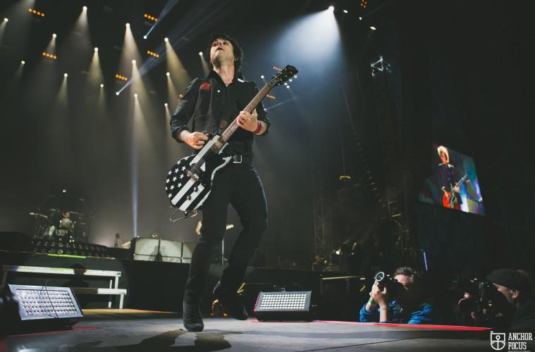 Green Day live at Nova Rock in 2017. (c) Natasja de Vries