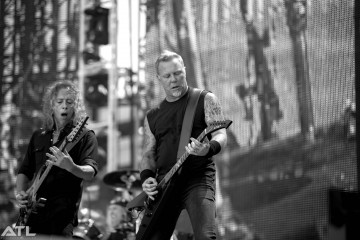 Hetfield in 2017. (c) Christian Sarkine