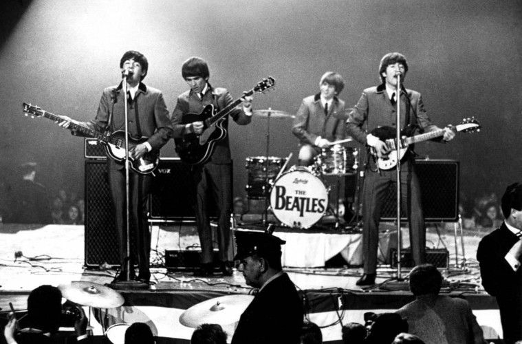 LIVE The Beatles Stage Triumphant Comeback In Eindhoven
