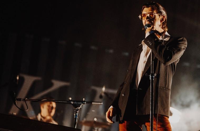 Arctic Monkeys, live in Madrid. (c) Jack Parker