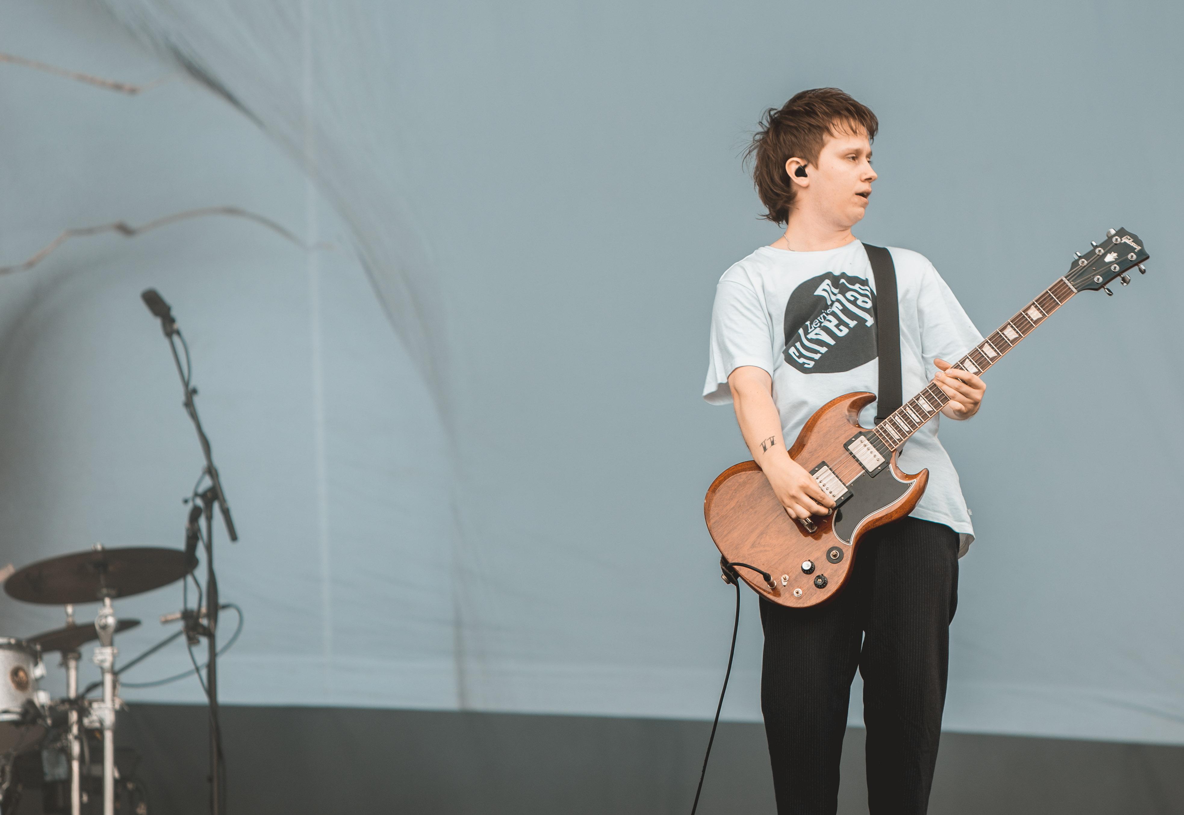 Frontman Conor Mason. (c) Jack Parker