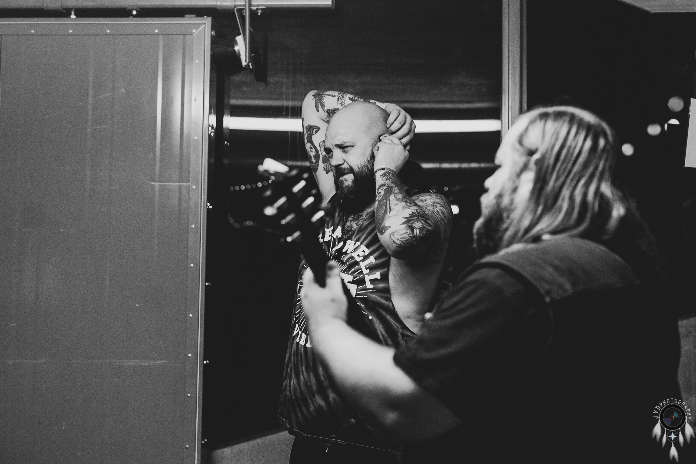 Cancer Bats - Backstage -34