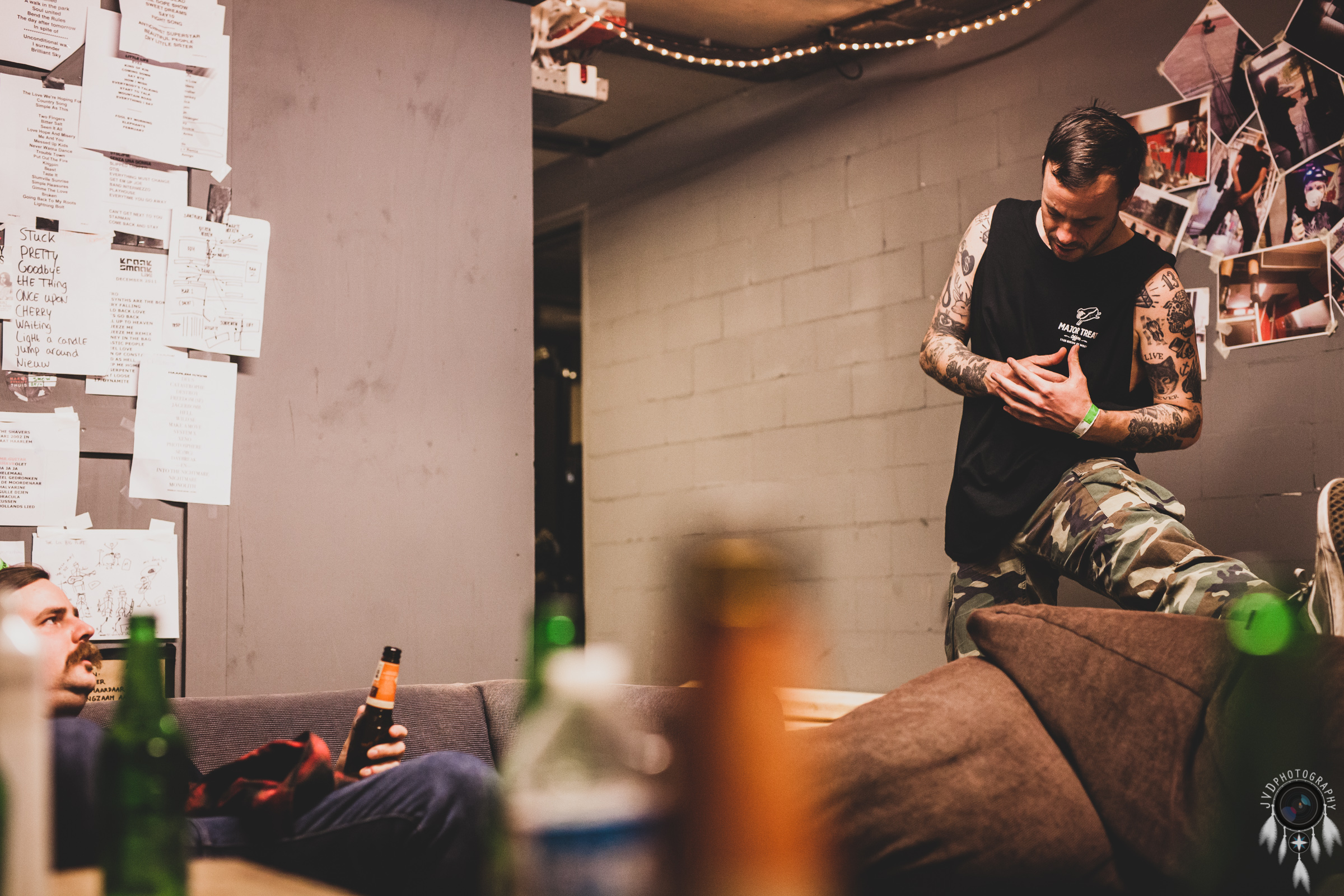 Cancer Bats - Backstage -38