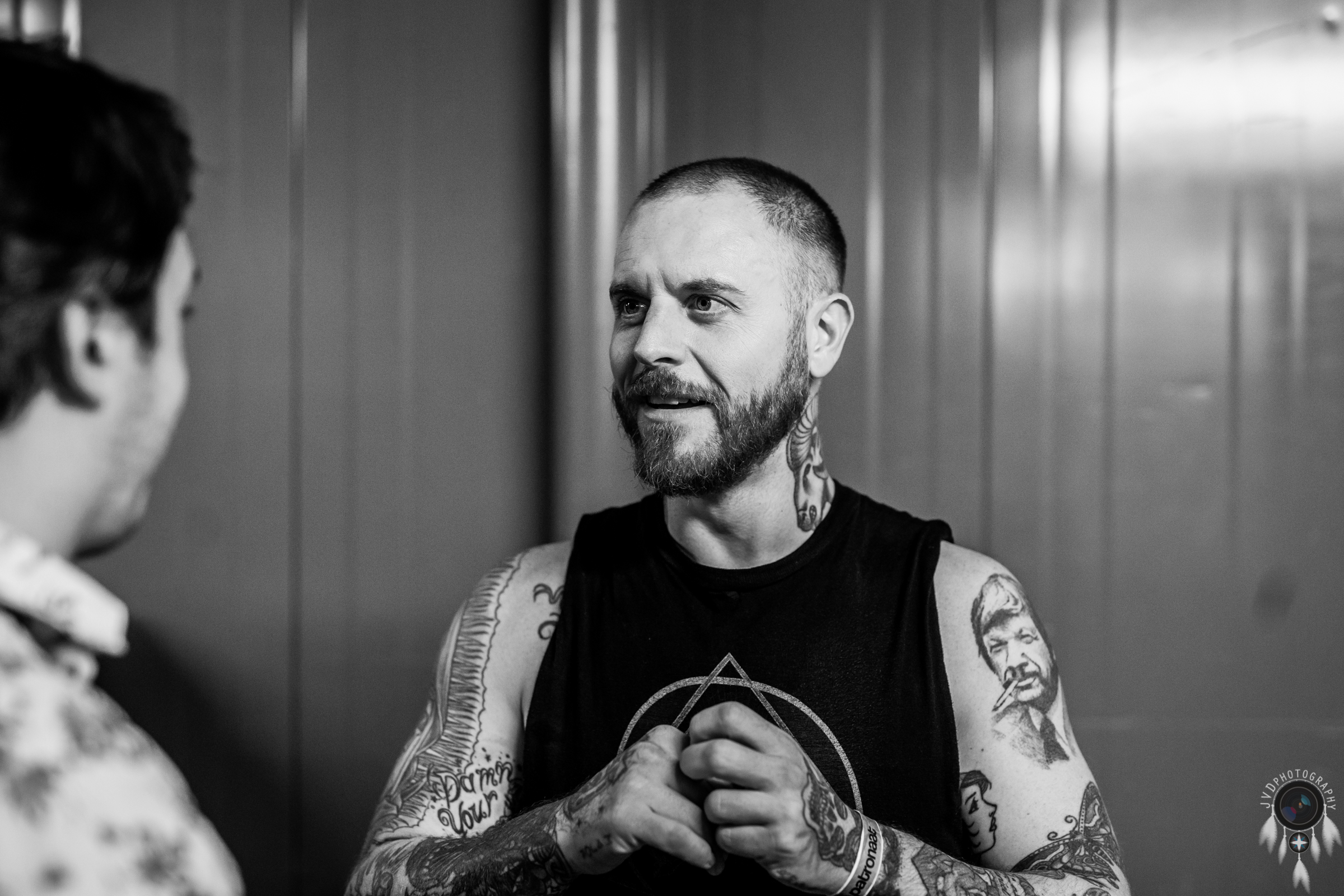 Cancer Bats - Backstage -44
