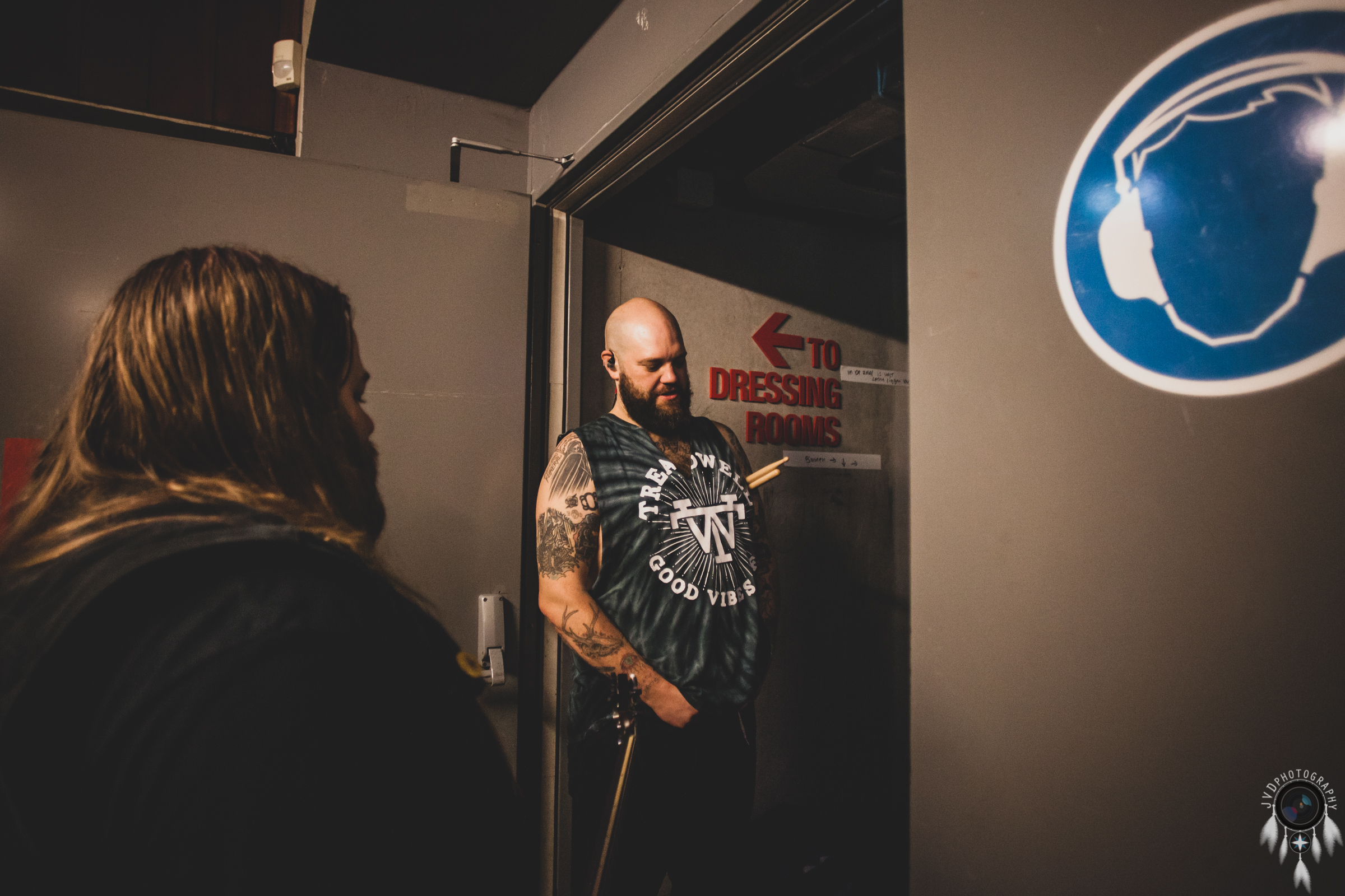 Cancer Bats - Backstage -47
