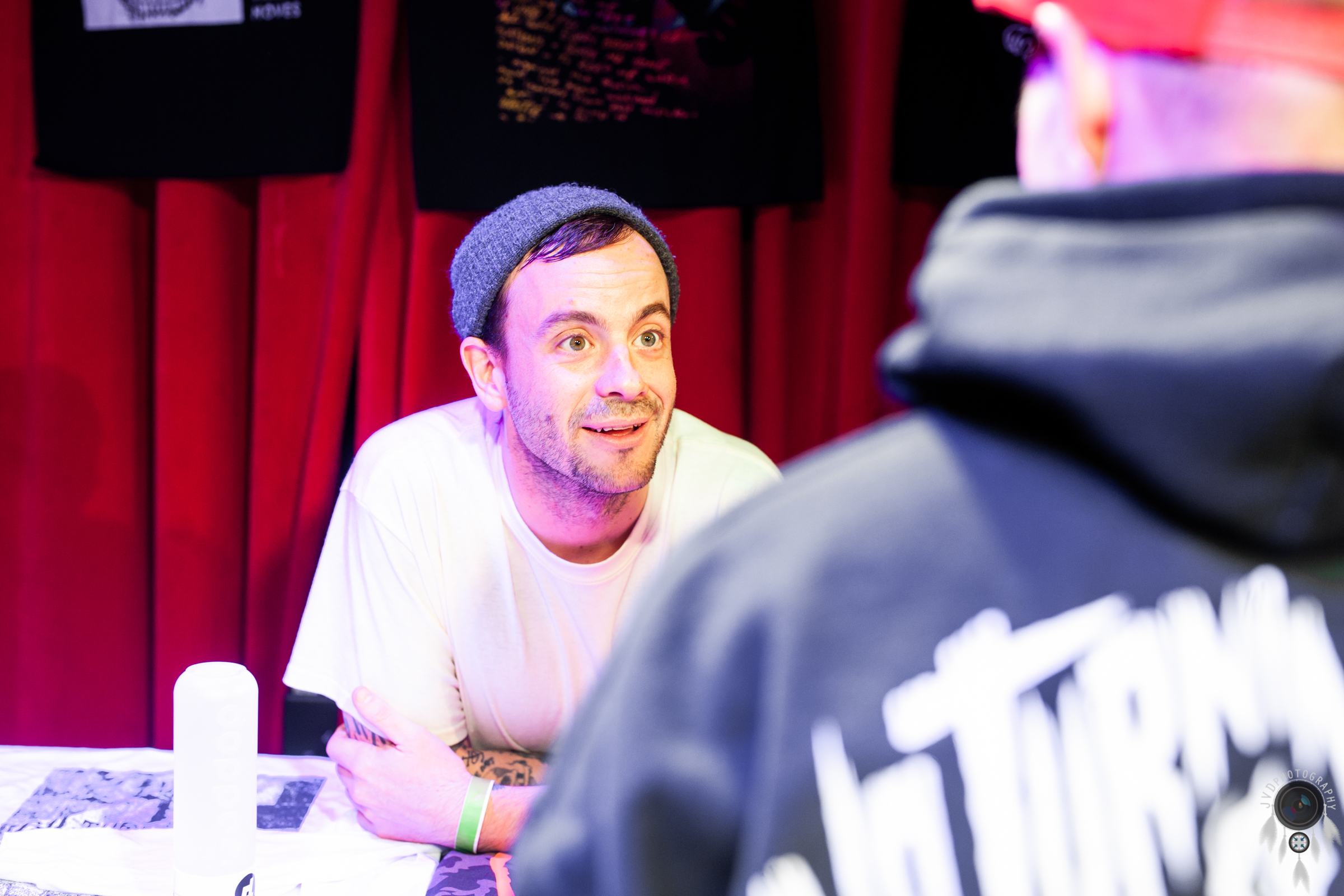 Cancer Bats - Backstage -5