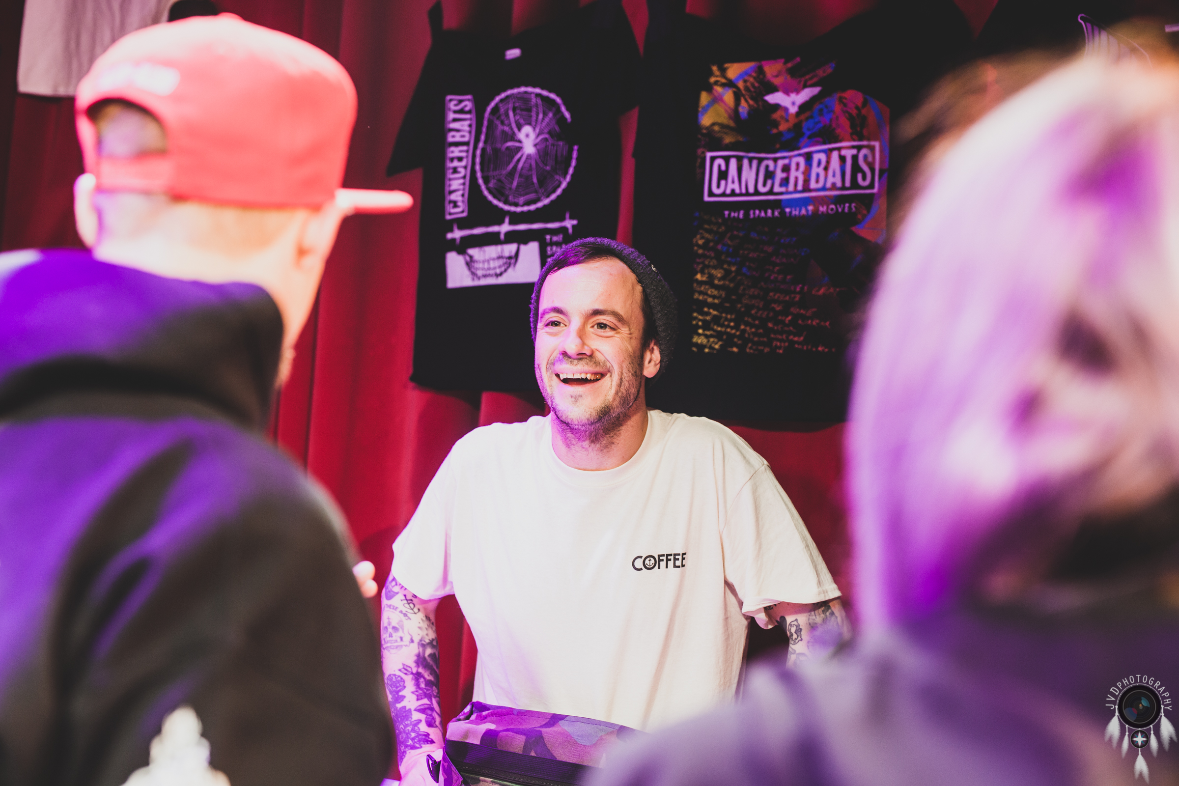 Cancer Bats - Backstage -6