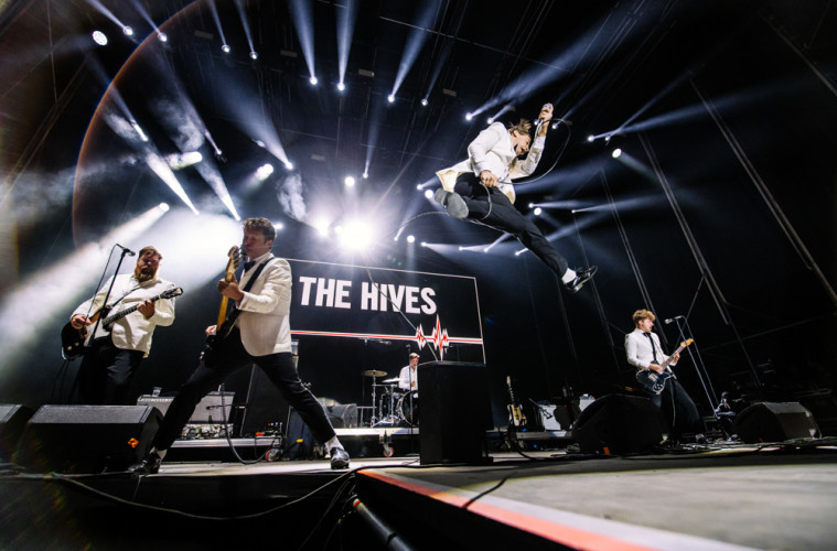The Hives. (c) Mitchell Giebels