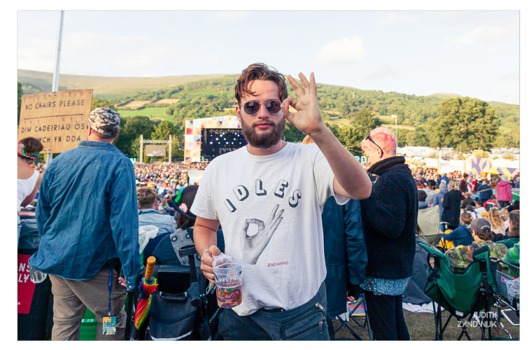 19-08-2019 IDLES-shirts at Green Man Festival-18