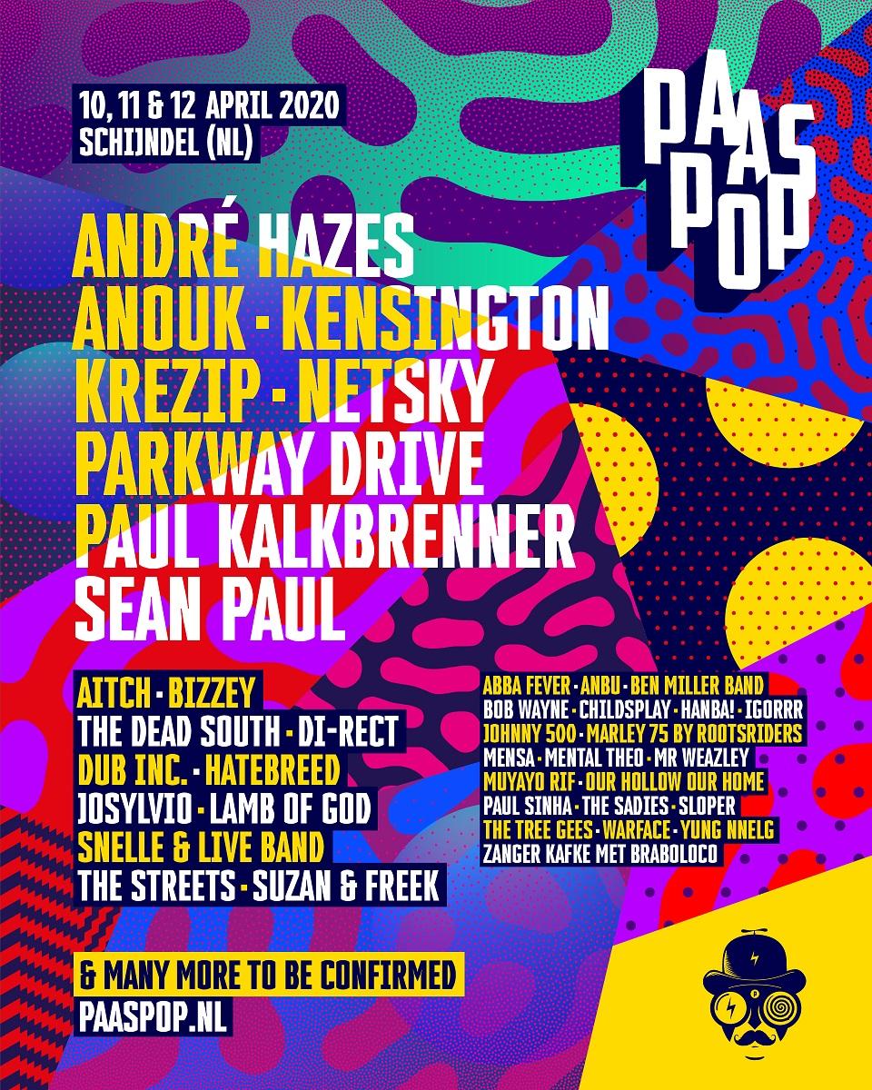 Paaspop 2020 poster