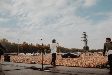 Nothing But Thieves live at Pinkpop Festival in 2018. (c) Jack Parker