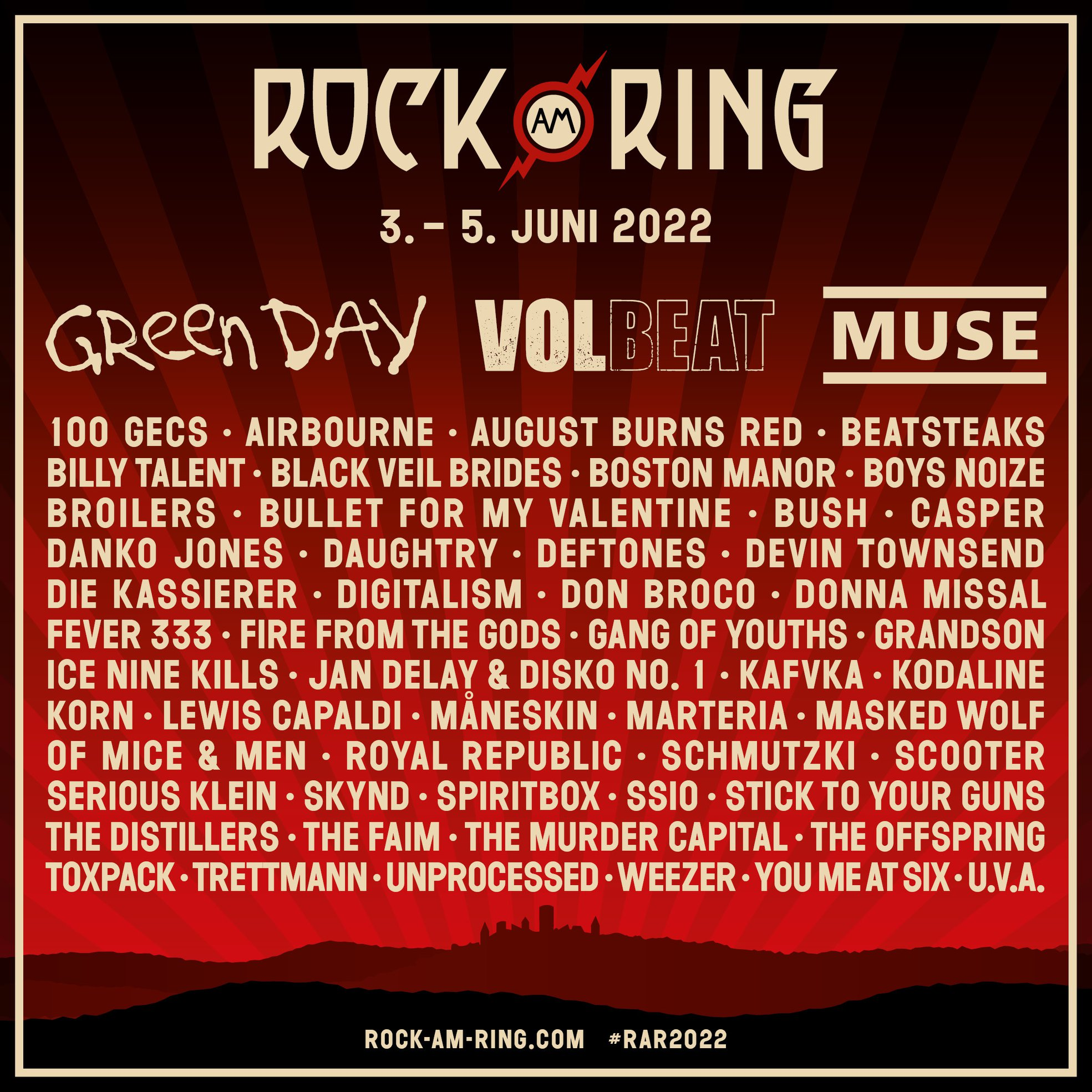 Rock Am Ring Adds Muse, Måneskin & More   All Things Loud